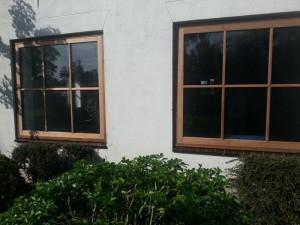 raamkozijnen met glas